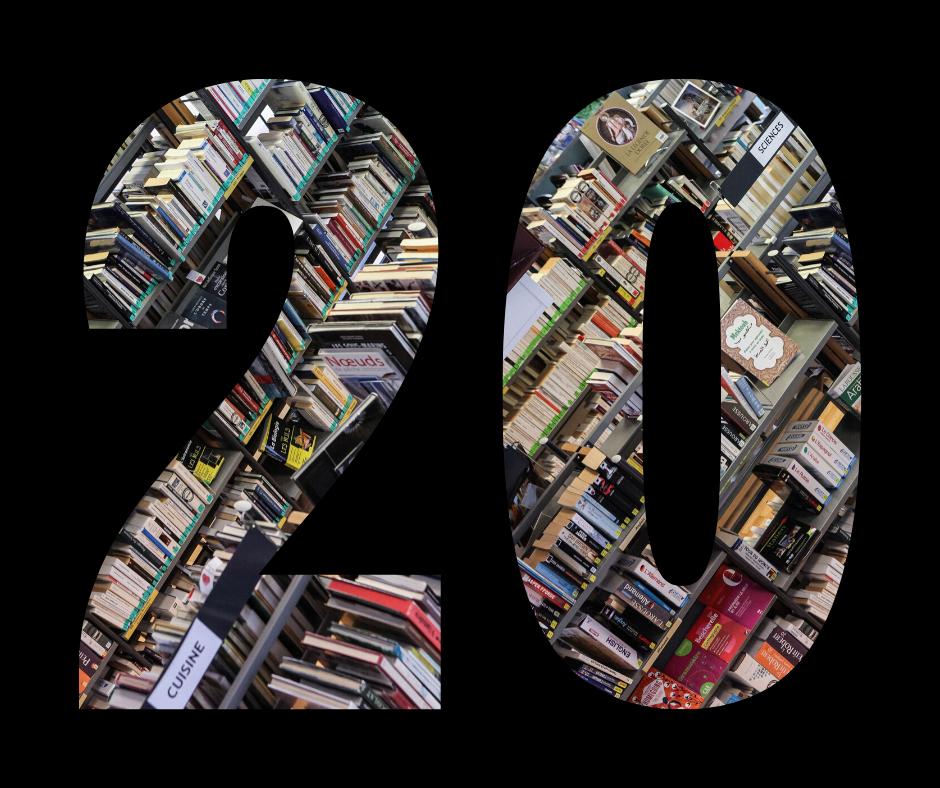 Les 20 ans de la médiathèque