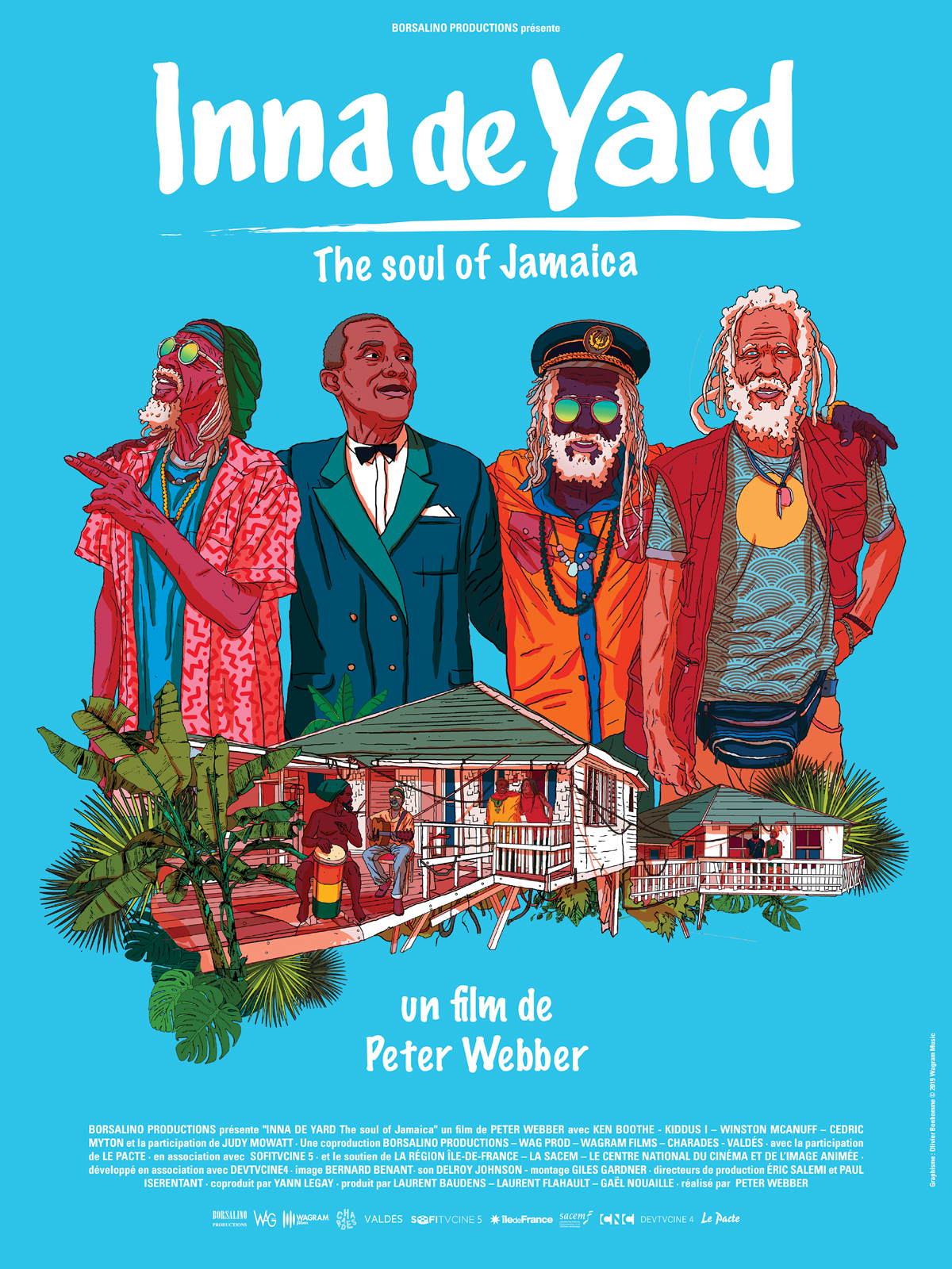 « Inna de Yard, the soul of Jamaica » de Peter Webber