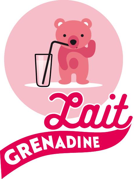 Lait-Grenadine