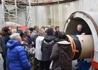 Visite du chantier du tunnel sous la Loire