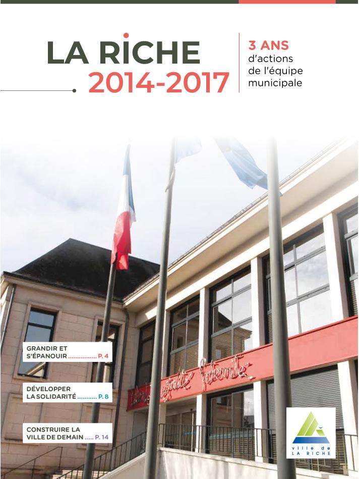 2014-2017: 3 ans d'actions de l'équipe municipale