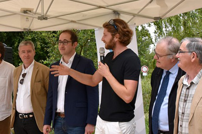 Inauguration officielle du Potager de Loire